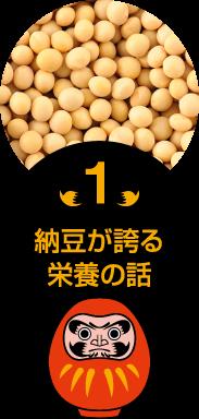 納豆が誇る栄養の話