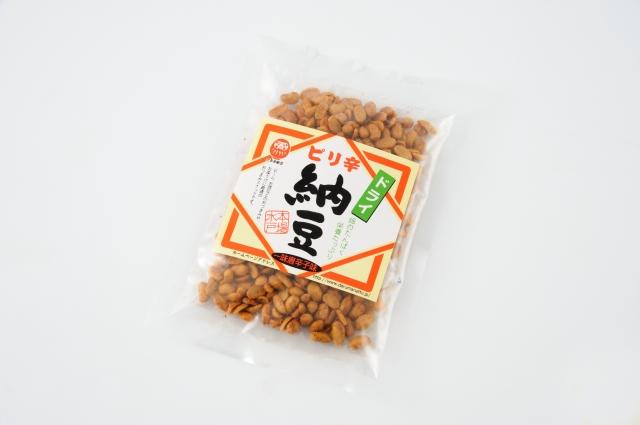 ピリ辛ドライ納豆