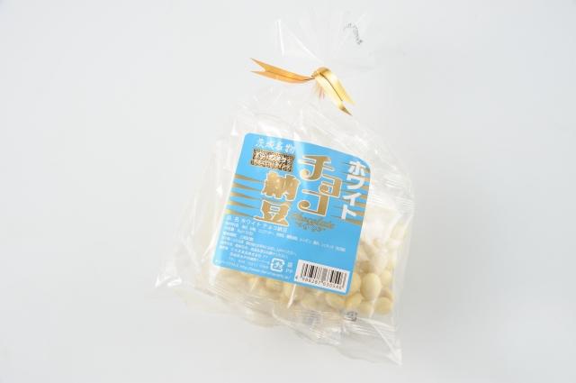 ホワイトチョコ納豆