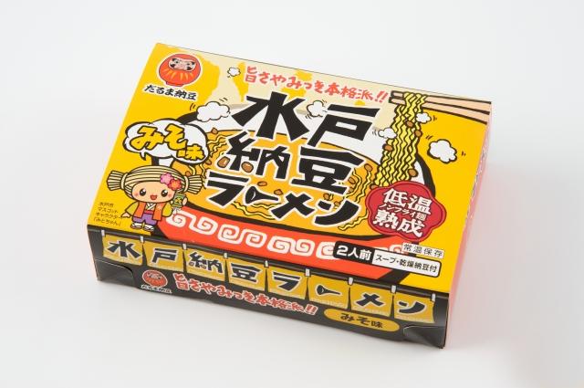 水戸納豆ラーメン味噌