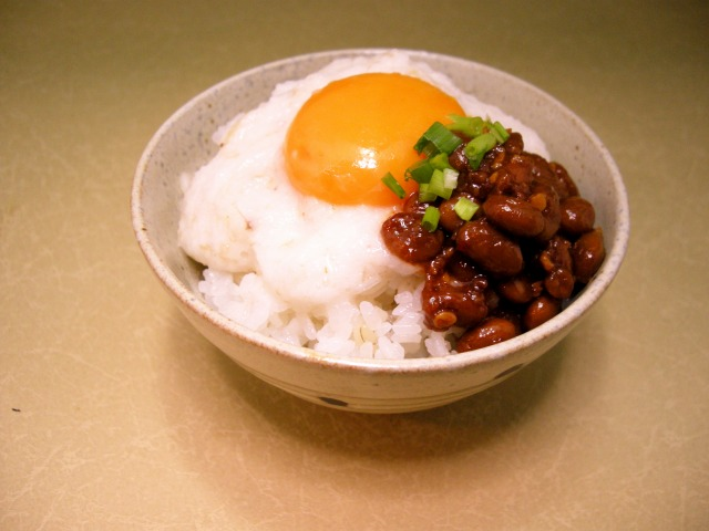 スタミナ水戸納豆ととろろのっけごはん