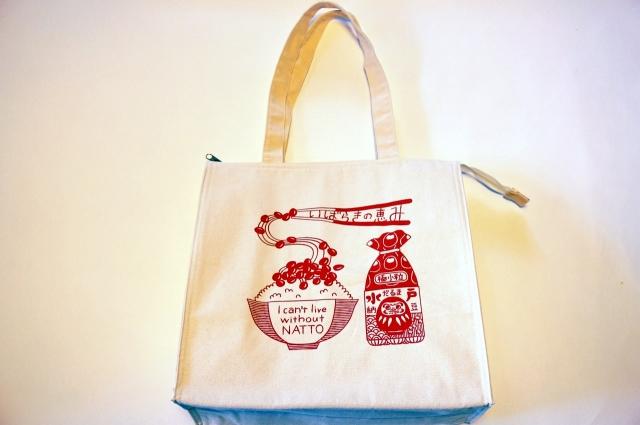 だるま納豆オリジナル保冷トートバッグ