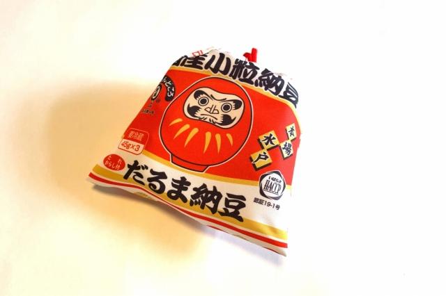 だるま納豆巾着・キーホルダーネット販売開始しました